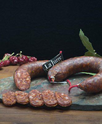 Chorizo Ibérico Picante - Jamones La Jurre